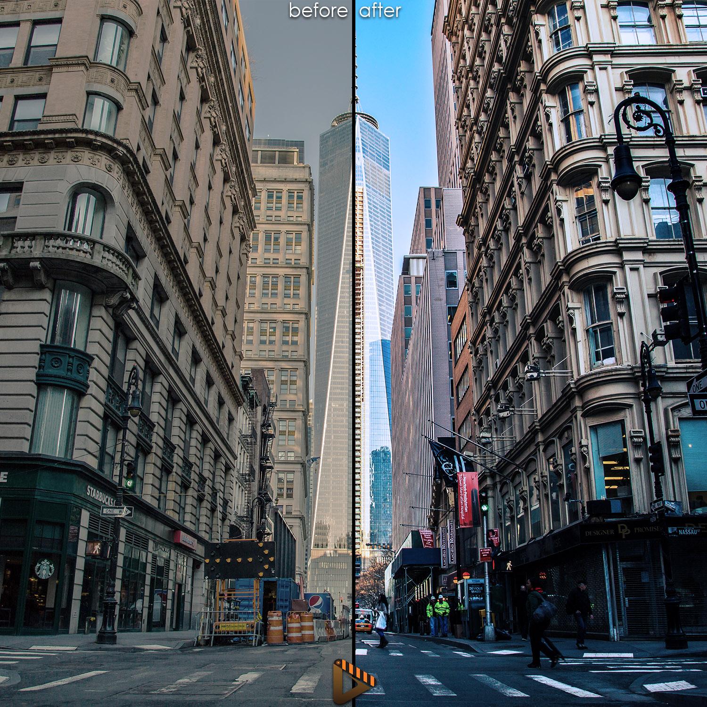 affinity presets city