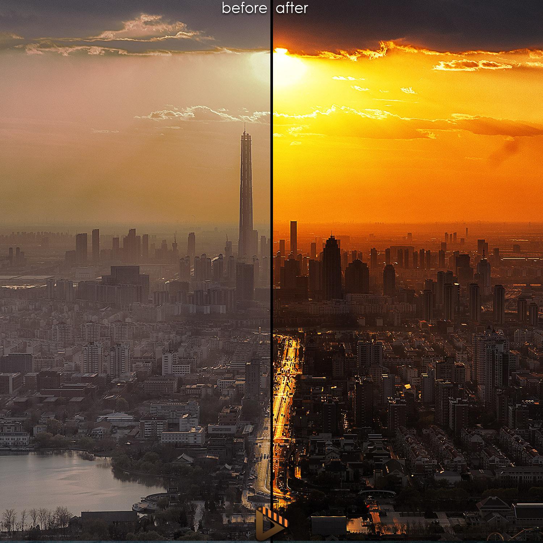 affinity presets sunset