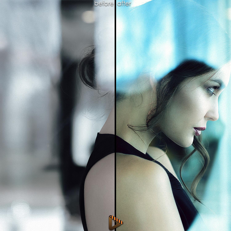 affinity presets woman portrait