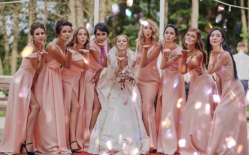 wedding overlays confetti
