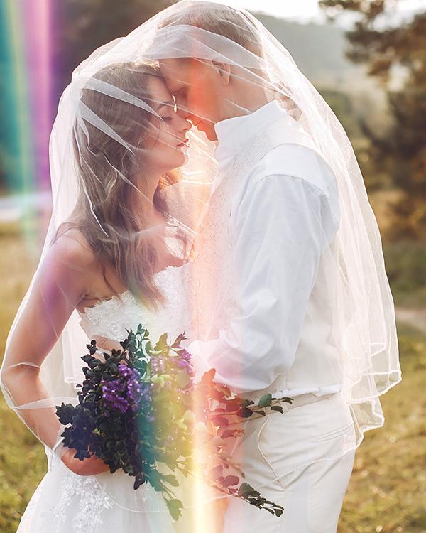 wedding overlays flare haze