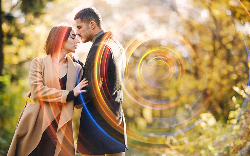 wedding overlays focus