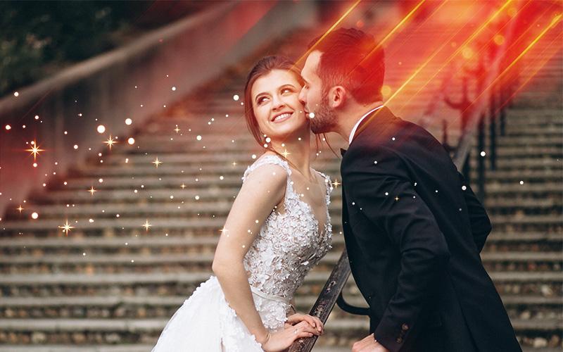 wedding overlays magic