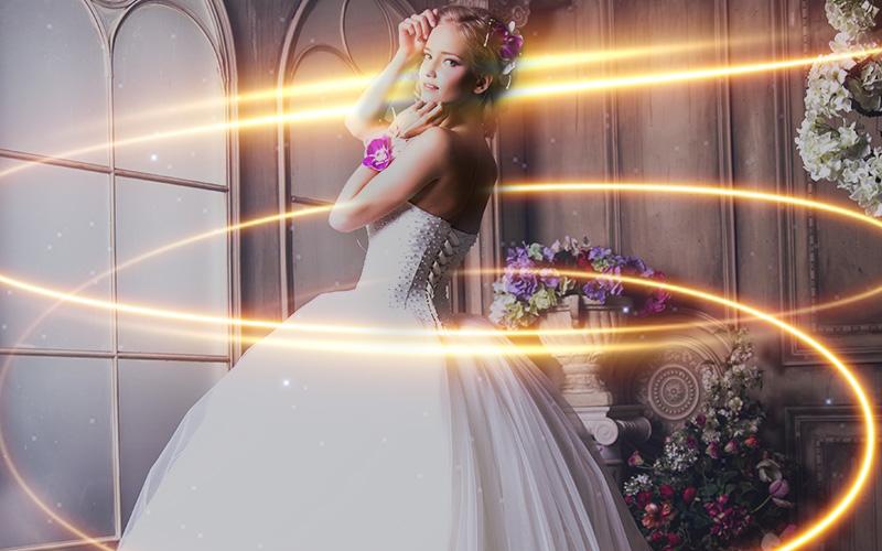 wedding overlays sparkler