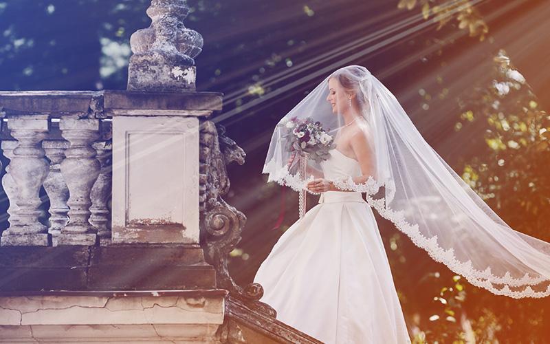 wedding overlays sunburst