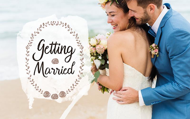 wedding overlays text overlays