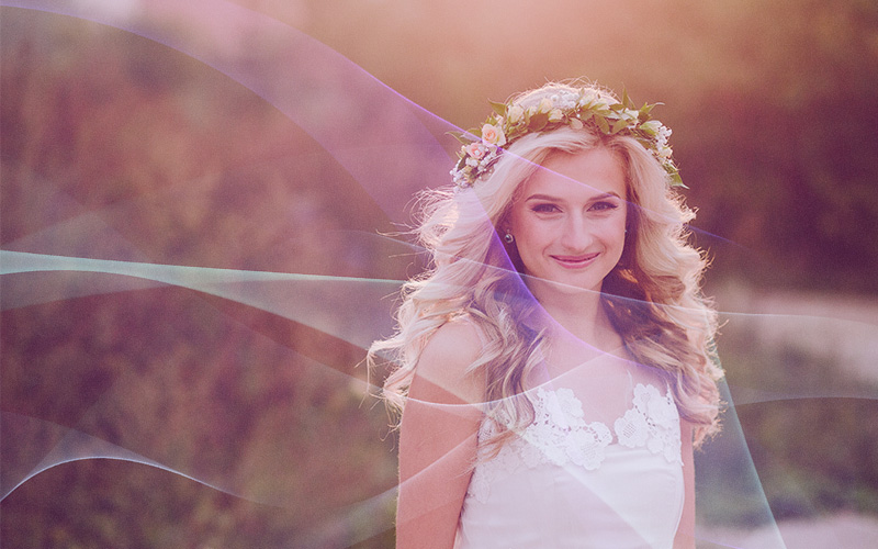 wedding overlays waves