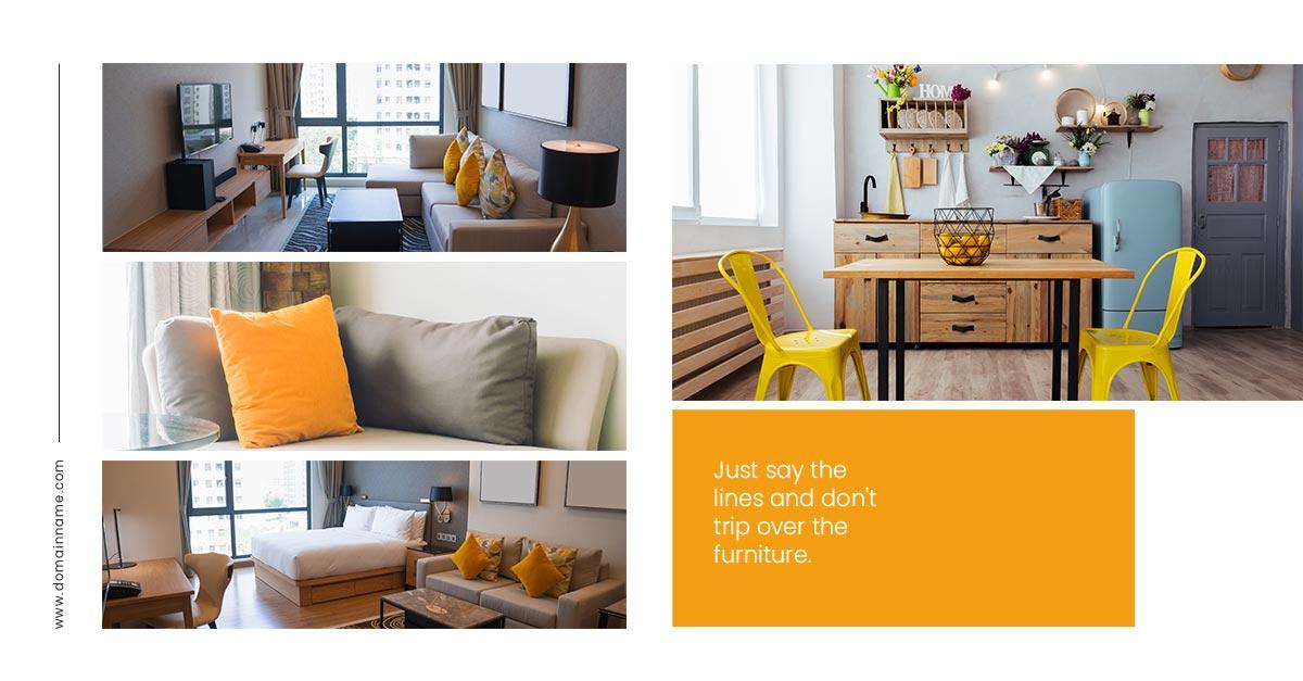 social media web templates facebook furniture