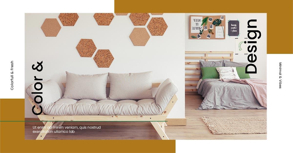 social media web templates facebook furniture 3