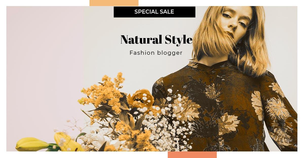 social media web templates facebook fashion 2