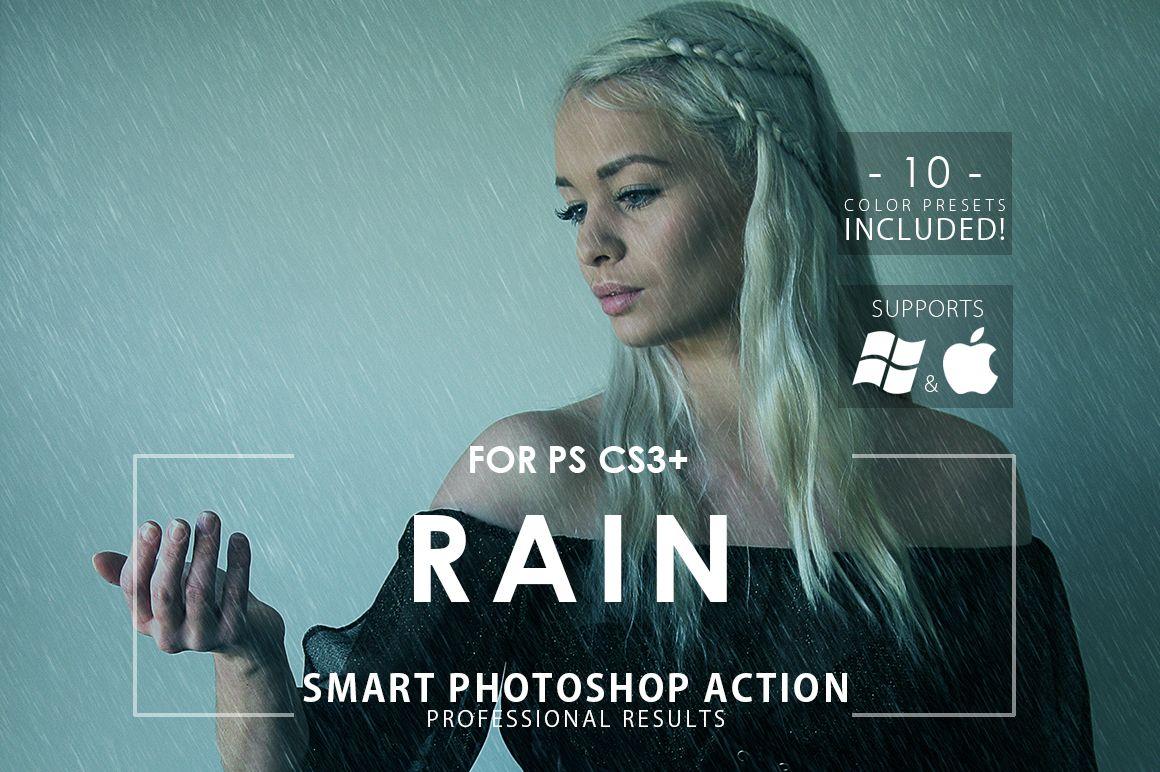 visual effect rain