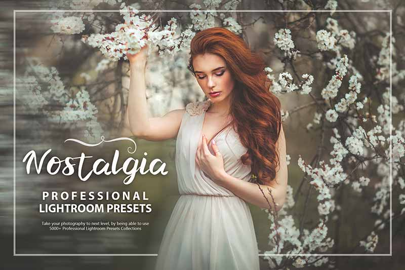 photo presets for nostalgia