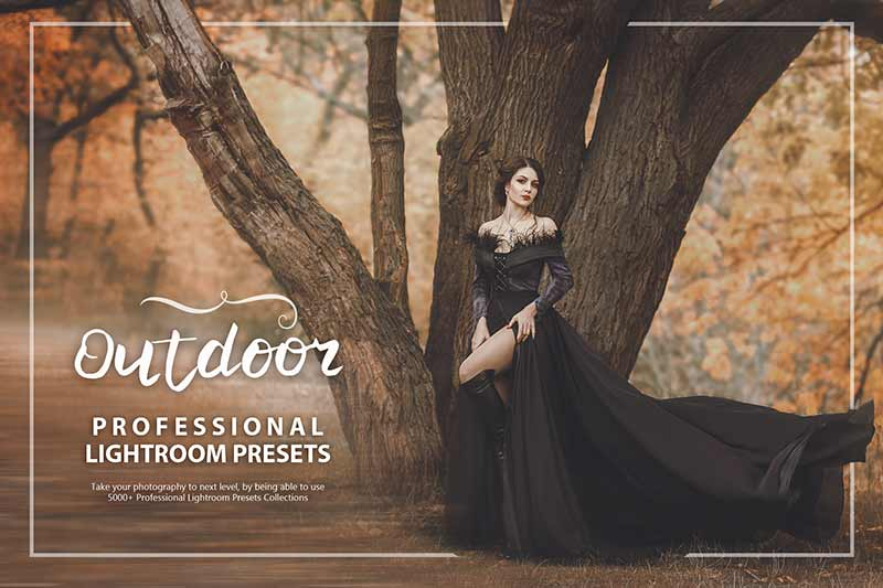 photo presets for outdoor