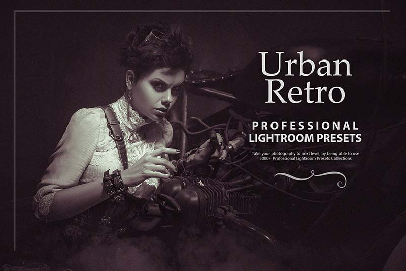 photo presets for urban retro