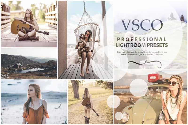 photo presets for VSCO