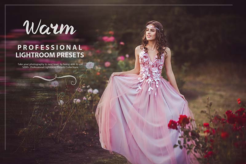 photo presets for WARM