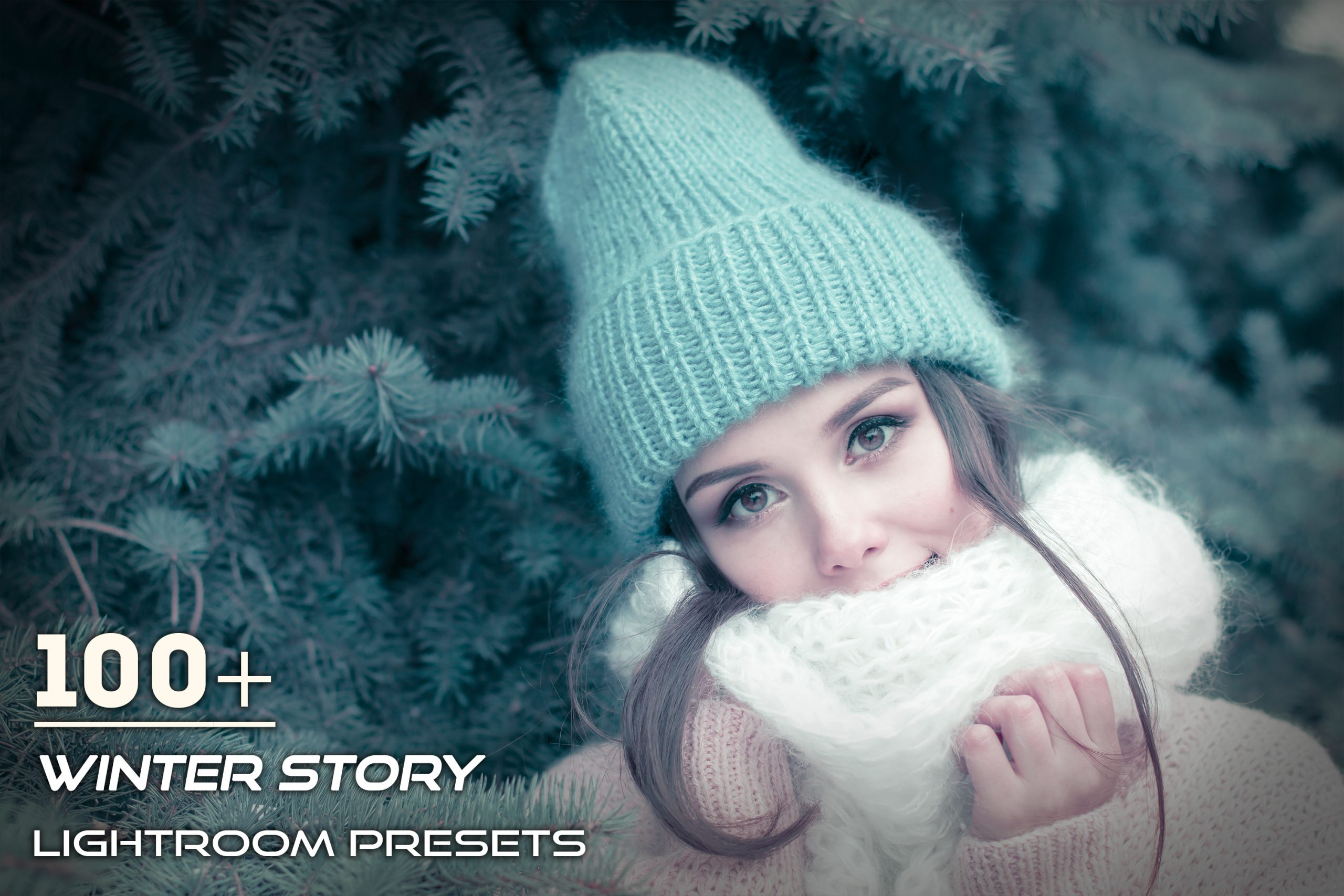 photo presets for winter story