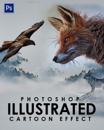 photoshop cartoon effect