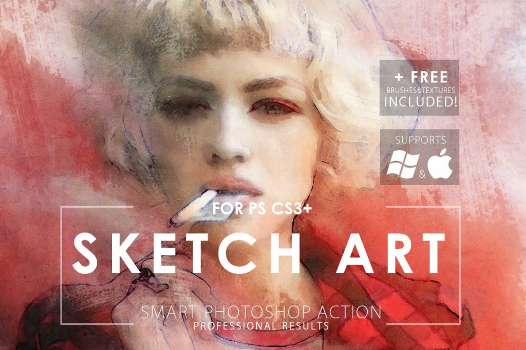 visual effect sketch art