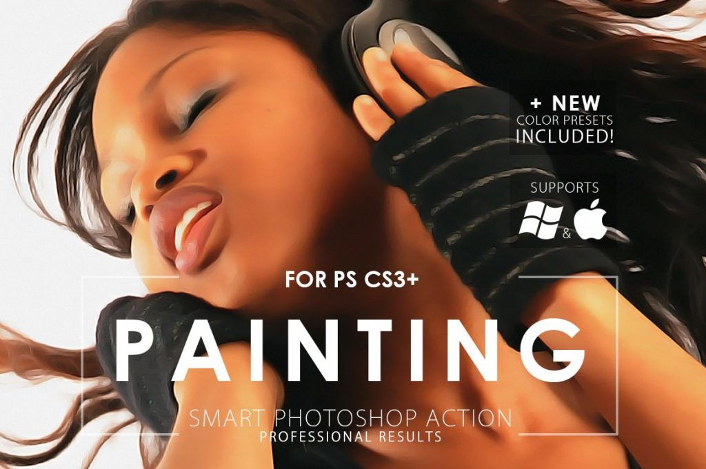 visual effect painting