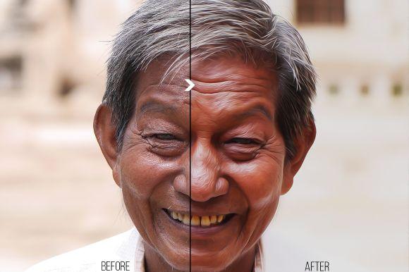 visual effect b & a