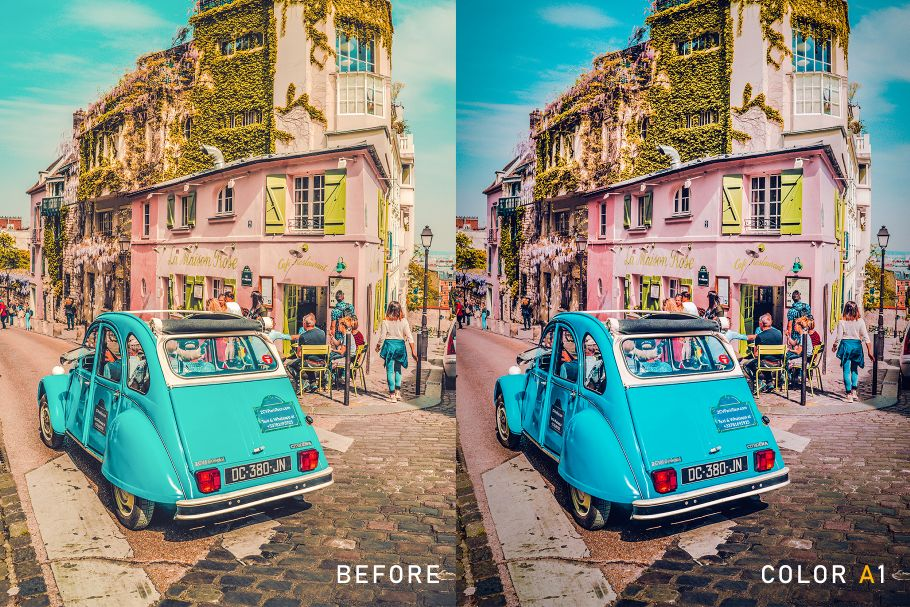 amazing lightroom presets love in paris