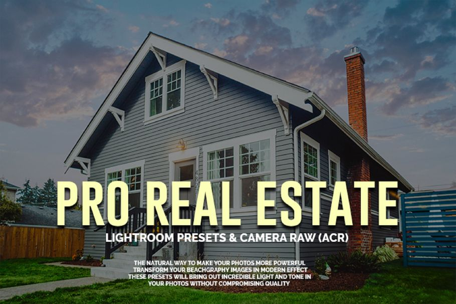 amazing lightroom presets pro realestate