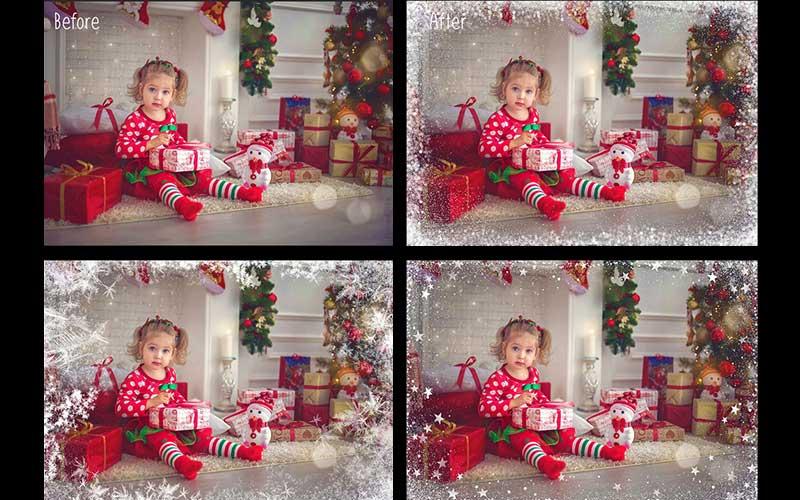 christmas overlays