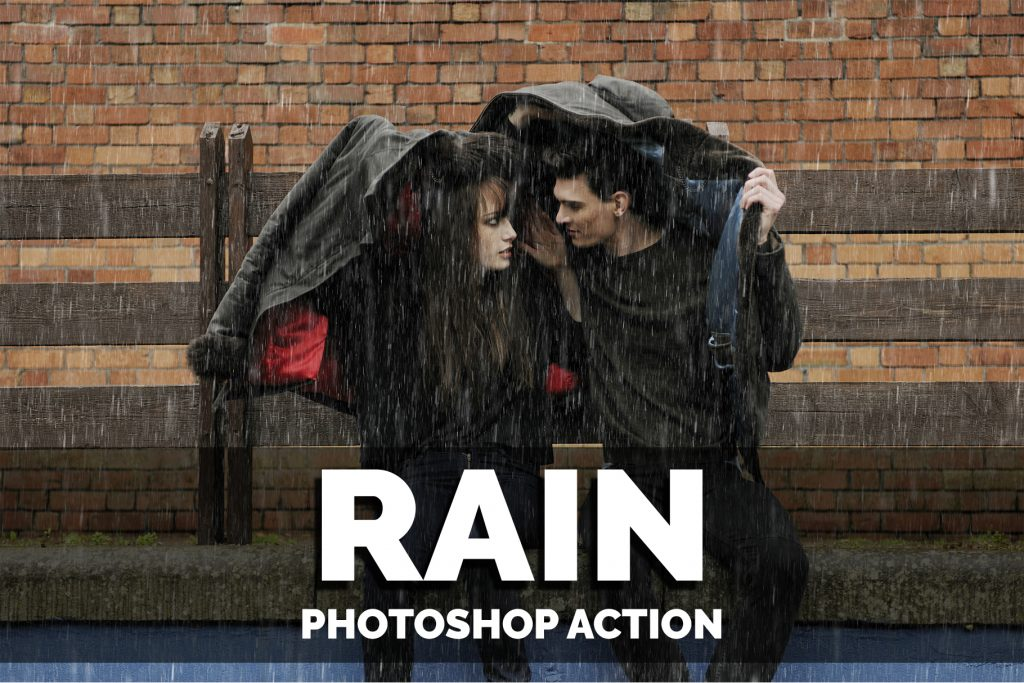 Rain Photoshop Actions