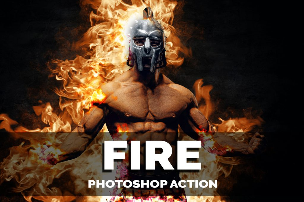 fire Photoshop Actions