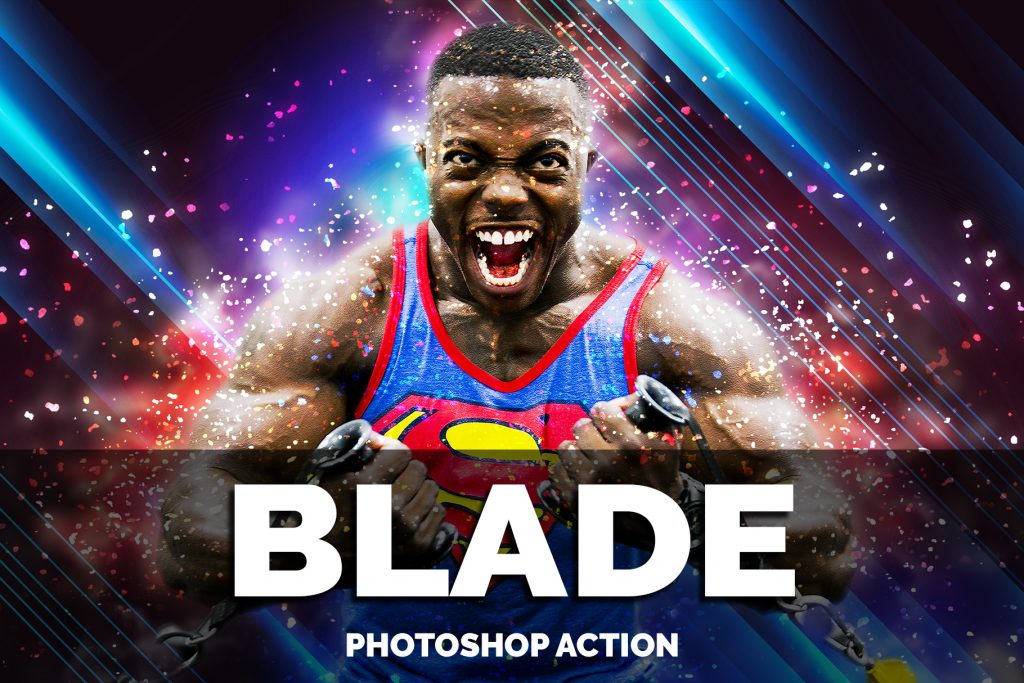 Blade Photoshop Actions