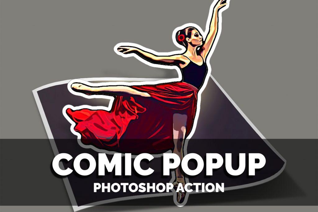 Comic Photoshop Actions