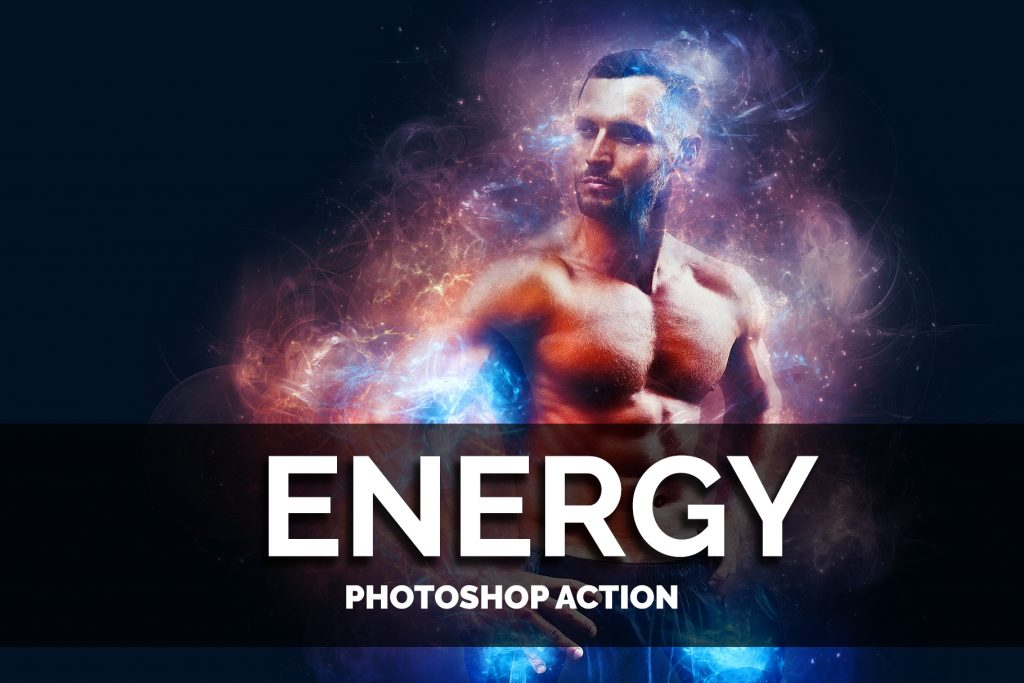 Energy Photoshop Actions