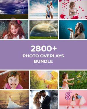 2800+ Photo Overlays Bundle