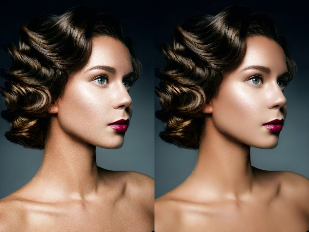 Retouching Before & After