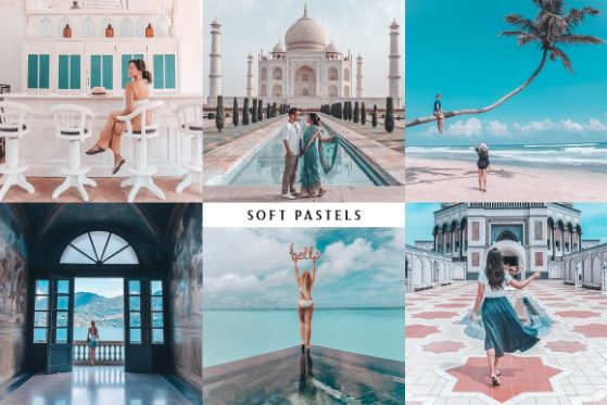 Pastel Photo Effects
