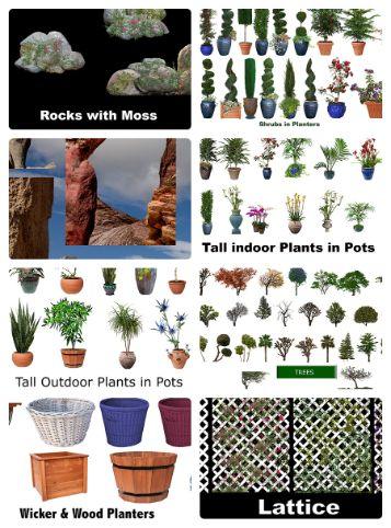 Drag & Drop Nature Elements