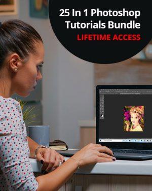 25 Photoshop Tutorials Bundle