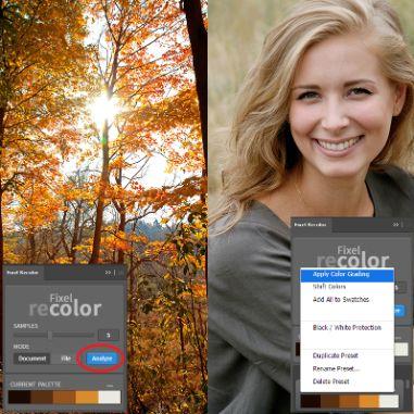 Fixel Recolor Photoshop Plugin